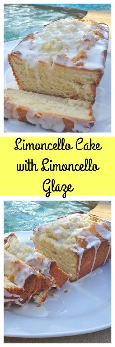 This Limoncello Cake with Limoncello Glaze is perfectly moist with just the right amount of sweetness.