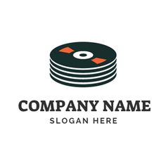 Several Black CD logo design Custom Logo Design, Custom Logos, Dj Logo, Online Logo, Music Logo, Logo Maker, Company Names, Slogan, Black