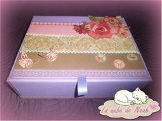 ♥ Forrar caja: modelo 1: http://lanubedenoah.blogspot.com.es/2014/01/forrar-una-caja-modelo-1_27.html