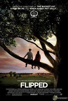 """Flipped"" starring Madeline Carroll and Callan McAuliffe.    http://www.youtube.com/watch?v=RDlXdujRSD8"