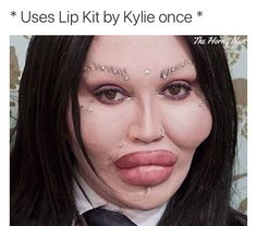 Kylie Jenner could legit learn a thing or two from Pete Burns who's always proved that less is more  #naturalvibes