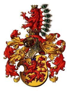 Principality of Habsburg [now in Switzerland], by Hugo Gerhard Ströhl, -- The County (later Principality) of Habsburg never formed part of Austria-Hungary, but was part of The Holy Roman Empire and is now in Switzerland. Family Shield, Holy Roman Empire, Austro Hungarian, Family Crest, Royal House, European History, Crests, Coat Of Arms, Worlds Of Fun