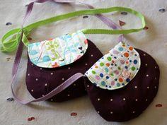 La cabane d'Elilou / jolies versions du sac pour petite fille de la Barakossa