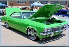 '65 Lime Green Impala SS Euer Tim vom Team der AutoErlebniswelt-Tü Taunus