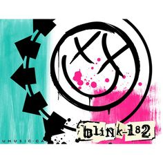 Desktop Wallpapers > Celebrities > Music > Blink-182, Blink-182 Logo |... ❤ liked on Polyvore
