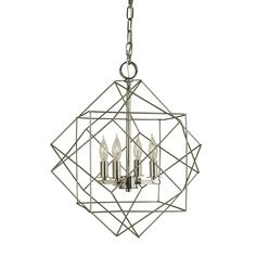 Etoile Chandelier by Framburg | F-4704 SP/PN#chandelier #etoile #f4704 #framburg #sppn Entryway Chandelier, Lantern Chandelier, Kitchen Chandelier, Chandelier Shades, Lantern Pendant, Chandelier Lighting, Lanterns, Stairway Lighting, Modern