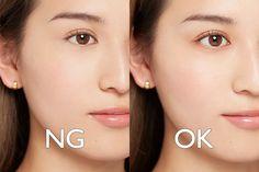 Makeup Inspo, Beauty Makeup, Hair Makeup, Hair Beauty, Ulzzang Makeup, Diamond Earrings, Pearl Earrings, Japanese Makeup, Drawing Lessons