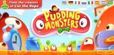 Pudding Monsters, ya disponible para Android lo nuevo de los creadores de Cut the Rope http://www.xatakandroid.com/p/88946