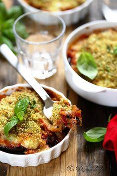 Parmigiana d'aubergines légère