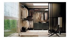 Wardrobe Dress Closet System by Rimadesio  Available at Haute Living