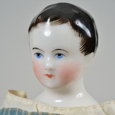 Early French-Type China Doll - 9 Inches