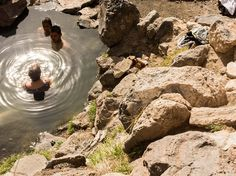 Stretch your legs and cool off at free-entry, natural mineral hot springs located about an hour and a half north of Albuquerque. A 10-15 minute hike off the road, the springs are a gathering spot for locals and visitors alike. When you're done, sprawl out on the rocks to dry in the sun and soak in the views of the surrounding volcanic Jemez Mountains. Good to know: Clothing is veryoptional.