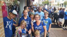 The Kerrie Show: #RoyalCelebration Recap: Heading to Downtown KC with a Crew of Fourteen!!! Part One