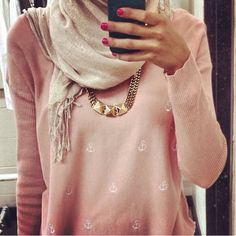 Simple and cute hijabi style❤️