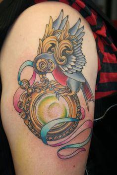 steampunk tattoo | Steampunk Tattoo Designs??