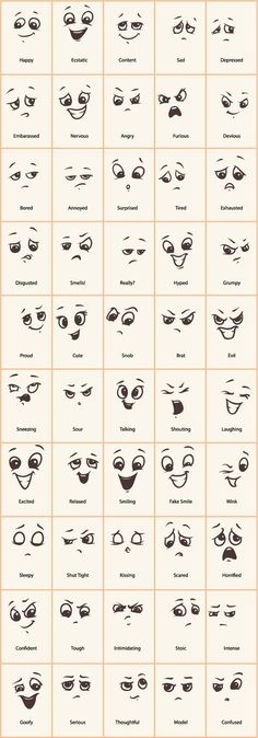 Decorative Rocks Ideas: Hand drawn funny expressions vector icons GooLoc … – - New Deko Sites Drawing Hands, Drawing Tips, Drawing Sketches, Eye Sketch, Drawing Ideas, Drawing Art, Doodle Drawings, Easy Drawings, Doodle Art