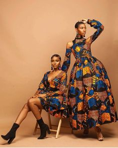Ankara Styles by Mawuli — Can we just crush on our beautiful queens. African Print Clothing, African Print Dresses, African Fashion Dresses, African Dress, Ankara Fashion, African Inspired Fashion, African Print Fashion, Africa Fashion, Ethnic Fashion