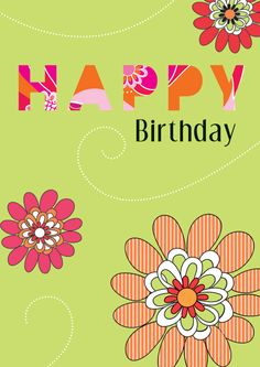 Happy Birthday  Inside: Wishing you waves of joy from beginning to end. #MarianHeath