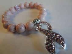 Breast Cancer Awareness Arm Candy by Angelwingsaccessory on Etsy, $30.00