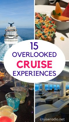 15 Overlooked Cruise Experiences - Cruise + Travel Tips - Vacation Packing List For Cruise, Cruise Travel, Cruise Vacation, Vacation Trips, Vacation Travel, Vacation Ideas, Disney Cruise, Honeymoon Cruises, Vacation Wishes