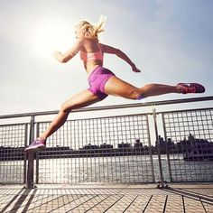 Pump up your running routine with plyometrics. This will get your heart pumping and build more muscle. Get fit and in shape with this running workout routine.