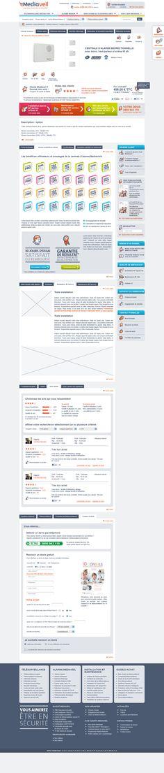 Realisation du site internet Mediaveil. #Webdesign