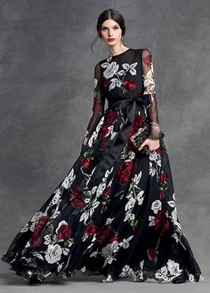 dolce and gabbana winter 2016 woman collection 112