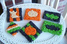 Rice Krispy Treats for Halloween