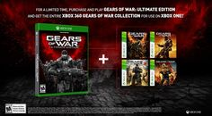 'Gears Of War: Ultimate Edition' Will Come With All The 'Gears Of War' Games