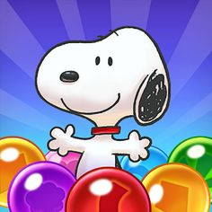 Snoopy Pop APK MOD v1.50.005 (Booster/Vidas ilimitados) Bubble Shooter Games, Bubble Games, Pop Bubble, Line Game, Challenging Puzzles, Charlie Brown Christmas, Game Icon, Original Music, Cute Birds