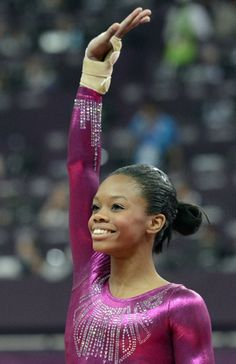 Gabby Douglas: Two Time Gold Medalist and the stunning achievement of becoming the first black woman to win the Olympic gymnastics women's individual all-around competition! Congratulations Gabby, you did us proud!