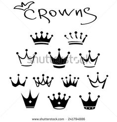 Find King Icon Set Vector Illustration Set stock images in HD and millions of other royalty-free stock photos, illustrations and vectors in the Shutterstock collection. King Crown Tattoo, Small Crown Tattoo, Crown Tattoo Design, Crown Tattoos, Heart Tattoos, Cute Tiny Tattoos, Dainty Tattoos, Small Tattoos, Garter Tattoos