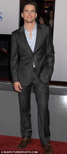 Matt Bomer. My lover. Secretly of course.