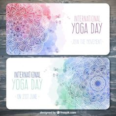 More than a million free vectors, PSD, photos and free icons. Exclusive freebies and all graphic resources that you need for your projects Certificate Layout, Yoga Flyer, Flyer Design, Logo Design, Visiting Card Design, Yoga Day, Mandala Art, Lotus Mandala, Grafik Design
