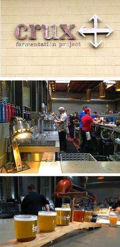 Beer Tasting in Bend: Crux Fermentation Project