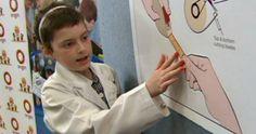 اختراع دختربچه ده ساله مبتلا به سرطان او را به ناسا فرستاد! |  وب گردی  |  http://webgardee.ir/?p=28090  مجله خبری وب گردی webgardee.ir  دختر بچه ۱۰ ساله ای که توانست سرطان را شکست دهد، به خاطر اختراع یک دستگاه چسب زخم، توانست جایزه سفر به ناسا را برنده شود.  این دختر بچه ۱۰ ساله استرالی�