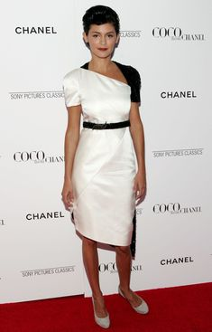 Audrey Tautou in Chanel at 'Coco Before Chanel' New York & Toronto Film Festival - September 2009