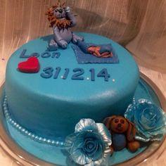 """""""Sjokoladekake ;)Ny-født kake til gammeltante sin snusk newborn cake til en  liten #prins #søtesaker #cacas #slikkepott_no #baby…"""""""