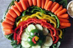 Thanksgiving turkey veggie tray! :-)