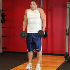 Bodybuilding.com - Dumbbell Shrug - Male