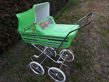 Puppenwagen*70er*klasse Farbe*ein Hingucker*Puppe*Puppen*Karre*viele*Fotos*