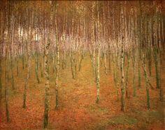 Antonin Slavicek - Birch Mood, 1897, oil on canvas
