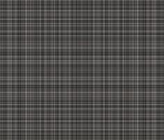 Castle Gray Plaid fabric by anniedeb on Spoonflower - custom fabric