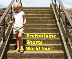 Looking for a versatile shorts pattern for kids that's lots of fun?  Check out Jenny's version of the Prefontaine Shorts at www.thesoutherninstitute.com