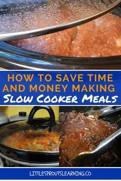 Using the slow cooker can save you time and money. There is much less temptation to eat unhealthy fast food and blow your family's budget.