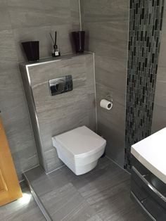 Informationen Über Eck WC The Most Useful Bathroom Shower Ideas There are almost uncountable kinds o Tiny Bathrooms, Rustic Bathrooms, Small Bathroom, Bathroom Wall, Bathroom Storage, Modern Bathroom Design, Bathroom Interior Design, Toilet Tiles Design, Floating Toilet