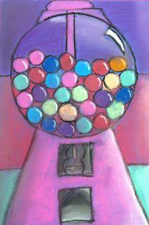 Value- Wayne Thiebaud Gum Ball Machine