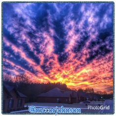 2/4/25 Cullman Sunset.  Photographer credit: @mccorjohnson