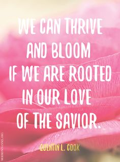 Thrive and bloom! #love #Christ