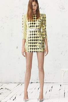Balmain Fall RTW...the shoulders, the prints, the colour!